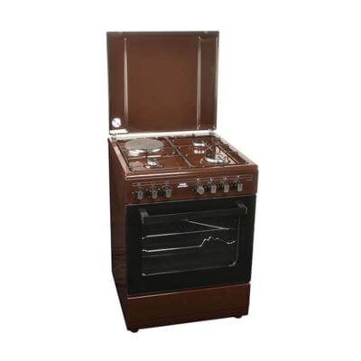 Von Hotpoint 7312NEK/VAC6S031UB 3 Gas + 1 Electric Cooker - Mono Brown