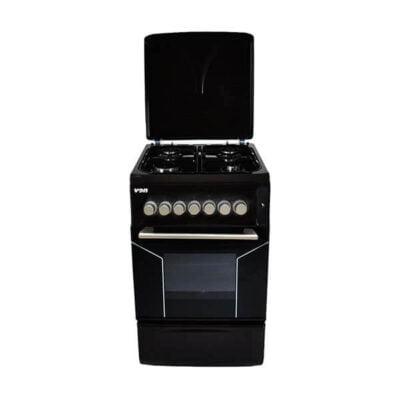Hotpoint Von F5N40G2.BLK/VAC5F240RK 4 Gas Cooker - Black