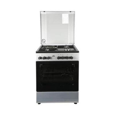 Von Hotpoint 7312NEG/VAC6S031UY 3 Gas + 1 Electric Cooker - Grey