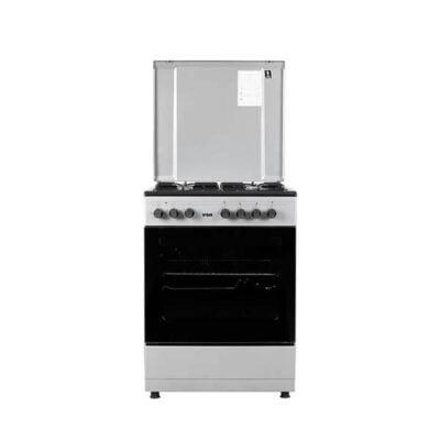Hotpoint Von VAC6S040UY 4 Gas + 1 Electric Oven - Grey