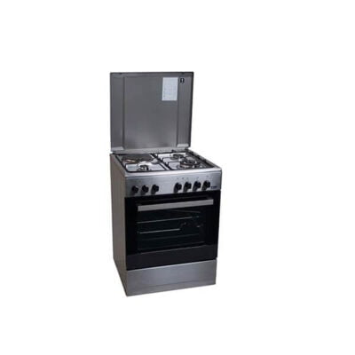 Von Hotpoint 7312NEI/VAC6S031UX 3 Gas + 1 Electric Cooker - Inox