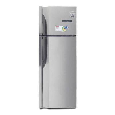 Hotpoint VON HRN-502S/VART-50NGK Double Door Fridge, Top Mount Freezer, 350L – Silver