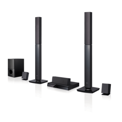 LG LHD647 Home Theatre - 5.1 Channel, 1000W, 2 Tall Boy, Bluetooth
