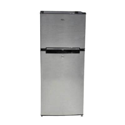 Mika Refrigerator MRDCD70LSD, 118L, Direct Cool, Double Door