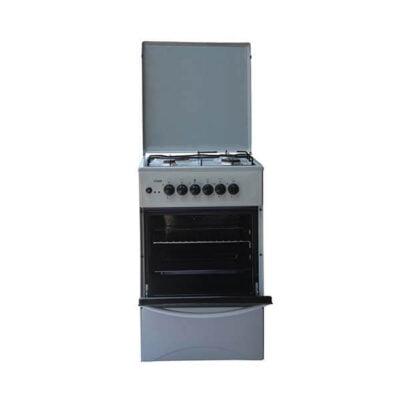 Mika MST50PI31KG Standing Cooker, 50cm X 50cm, 3 + 1