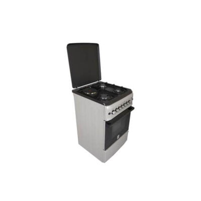Mika MST55PI31SL/HC Standing Cooker, 50cm X 55cm, 3 + 1
