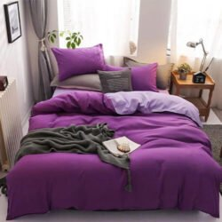 WGC 5 by 6 Quality Cotton Purple Duvet