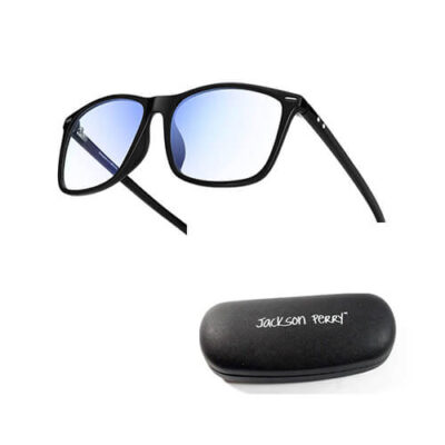Antiglare blue light blocking glasses plus cover