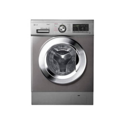 LG Washing Machine, FH4G6VDYG6 Front Load 9KG - Silver