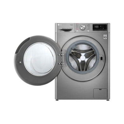 LG Washing Machine, F4V5VYP2T Front Load 9KG - Silver