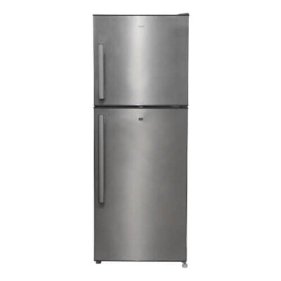 Mika MRNF225XLB No Frost Refrigerator, 200L, Double Door, Brush Stainless Steel
