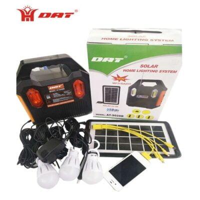 Dat 9028B Solar Kit With Radio