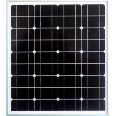 Solar Africa 50 Watts 12 Volts Mono Crystalline Solar Panel
