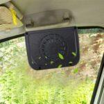 Generic Solar Car Windshield Automatic Cooling Fan