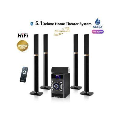 Nunix HiFi 5.1 Deluxe Home Theatre System- Flat Tall Boy