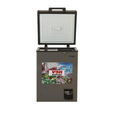 Hotpoint Von VAFC12DUS Showcase Freezer Grey
