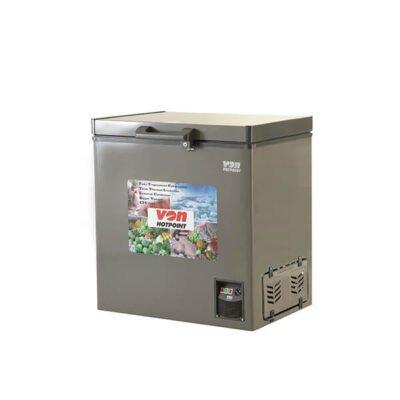 Hotpoint Von VAFC19DUS Showcase Freezer Grey