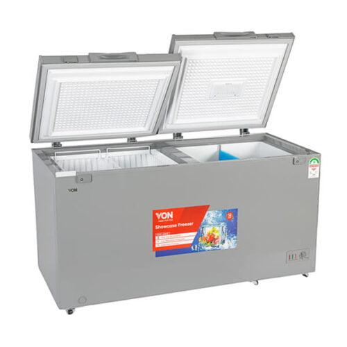 Hotpoint Von VAFC-35DXS Chest Freezers 342L Grey