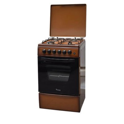 Ramtons 4GAS+ELECTRIC OVEN 50X50 BROWN COOKER- RF/315