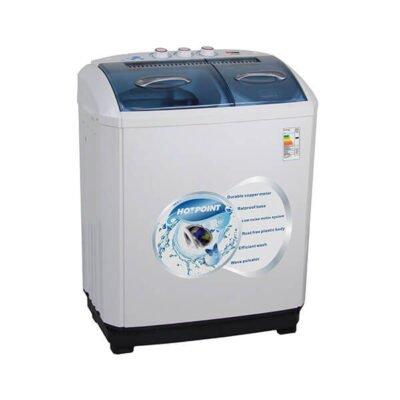 Von Hotpoint HPTT10/VALW-10MLW Twin Tub Washing Machine - White - 10 Kg