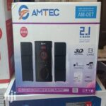 Amtec 2.1 CH SubWoofer HOME THEATRE SYSTEM Bluetooth
