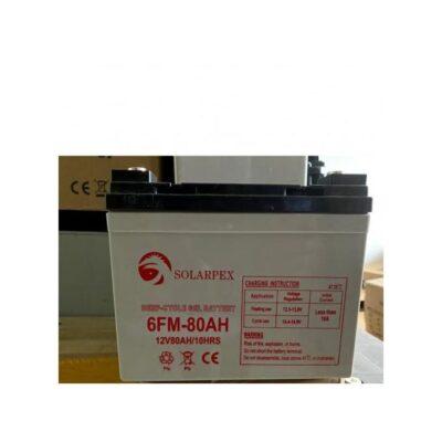 Solarpex 80AH deep cycle gel battery best price in Kenya