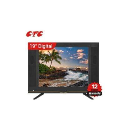 CTC 19 INCH AC DC LED DIGITAL TV With Inbuilt Decoder