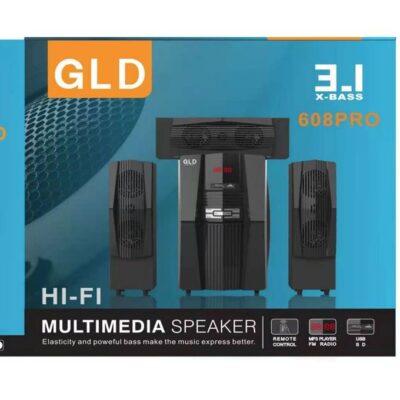 Gld 608 Pro 3.1 CH SUB WOOFER HD Sound