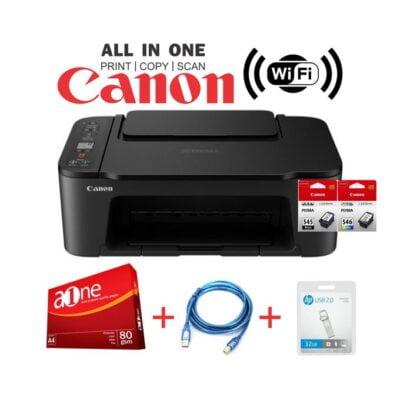 Canon PIXMA TS3440 Wirelessly Print Copy Scan