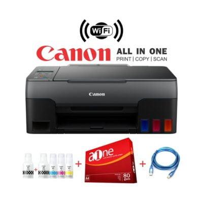 Canon PIXMA G3420 Wirelessly Print Scan Copy