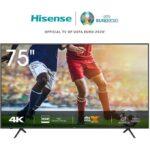 Hisense 75 Inch Smart UHD 4K Frameless TV Bluetooth